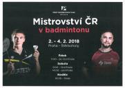 Mistrovství ČR v badmintonu - Štěrboholy