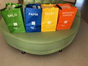 Tašky pro domácnosti na tříděný odpad